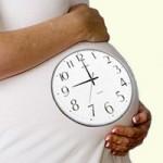 Что предвещает конец беременности?