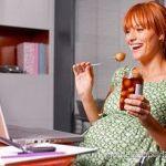Странное меню будущих мамочек